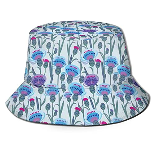 Gorra de Pescador con Imagen gráfica Unisex, Estampado de...