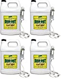 Deer Out 1 Gallon Ready-to-Use Deer Repellent (Pack of 4)