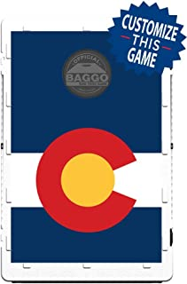 Colorado Flag Bean Bag Toss Game by BAGGO