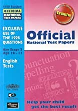 Official National Test Papers: Science Tests 1999 (Official National Test Papers)
