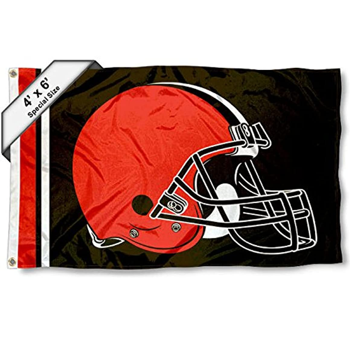 WinCraft Cleveland Browns 4' x 6' Foot Flag