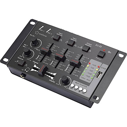 Renkforce MX-26 USB DJ Mixer