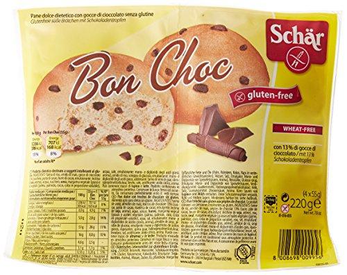 Schar Bon Choc Sandwiches Gluten Free Desserts Avec Chocolate Drops 220g