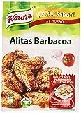 Knorr 1,2,3. Sabro AL HORNO - Alitas Barbacoa, 52gr. (1 unidad)