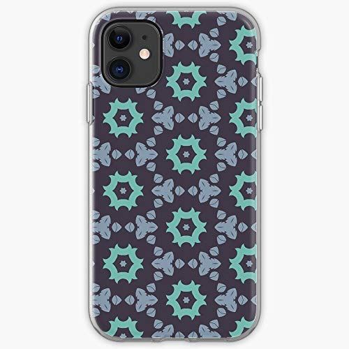 Pattern of Mandala Life Flower Template Ornament Flourishes Texture Christmas Phone Case For All iPhone, iPhone 11, iPhone XR, iPhone 7 Plus/8 Plus, Huawei, Samsung Galaxy Illustration Stars