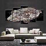 WKXZZS Tabla decoración Millennium Falcon Interior Plans Movie -...