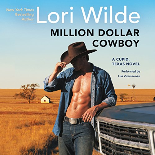 Million Dollar Cowboy audiobook cover art