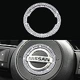 KORUIPEI Steering Wheel Bling Crystal Emblem...