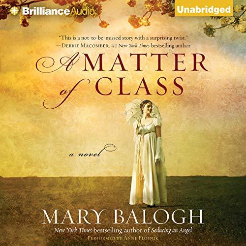 A Matter of Class audiobook cover art