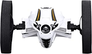 GXOK [Ship from USA Directly], Play Vehicles, 2.4GHz 360 Degree Rotation Jump RC Car with LED Lights Robot Toys Gifts, Toy Car for All Adults and Kids and Vehicle Lovers of All Ages