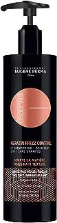 EUGENE PERMA Professionnel Shampoo Cura 2en1 Cheratina Frizz Control Anticrespo Per Capelli Epais/ricci/ribelli, 400 Milli...