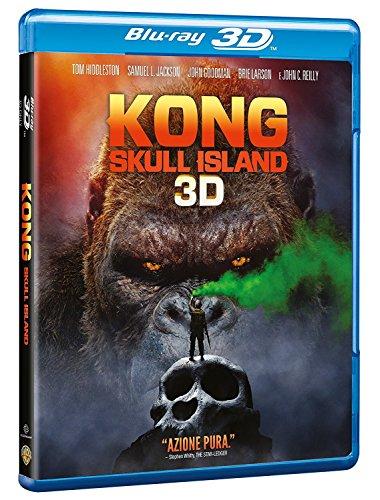 kong: skull island (3d) (blu-ray 3d+blu-ray) BluRay Italian Import
