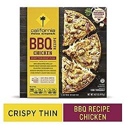 CALIFORNIA PIZZA KITCHEN Crispy Thin Crust Frozen Pizza BBQ Recipe Chicken 14.7 oz.