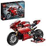 LEGO 42107 Technic Ducati Panigale V4 R Motorrad, Supermotorrad, Ausstellungsstück, Modell für Sammler