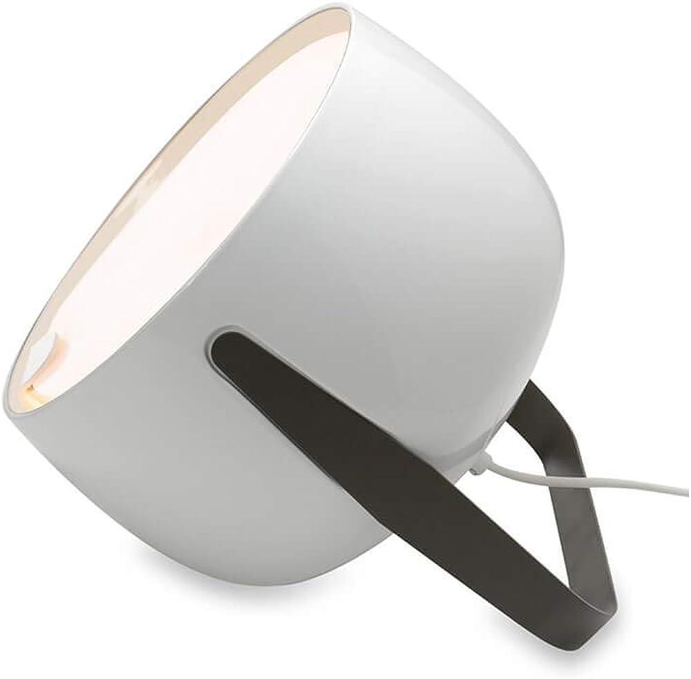 Karman bag, lampada da terra,in  ceramica liscia bianco lucido HP154AB INT