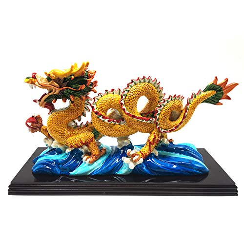 better us 11 Inch Large Chinese Feng Shui Dragon Statue...