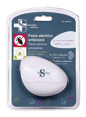 Sanitec Solutions Peine Eléctrico Anti piojos - 1 Unidad