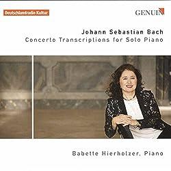 Bach : Transcriptions de concertos