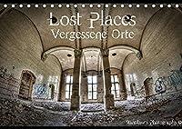 Lost Places, Vergessene Orte (Tischkalender 2022 DIN A5 quer): Lost Places, Vergessene Orte und die Spuren der Zeit (Monatskalender, 14 Seiten )