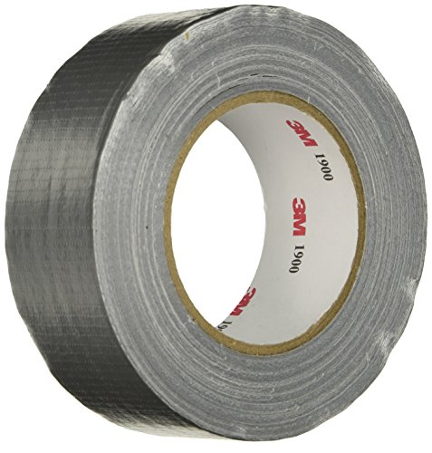 3M Value Duct Tape 1900, Silver, 1.88 in x 50 yd, 5.8 mil