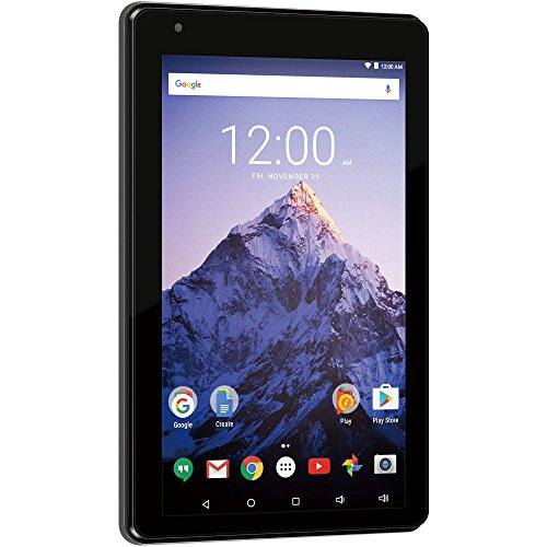 """RCA Voyager Pro 7"""" 16GB Tablet with Keyboard Case Android 6.0 (Marshmallow) in CHARCOAL"""