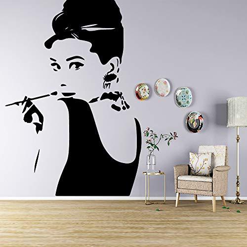 DIY etiqueta de la pared calcomanía cartel Hollywood Movie actriz Super Star...