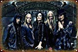 Cimily Nightwish Vintage Blechschild Metallschild Poster
