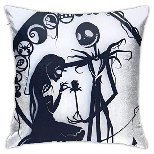 Happy cat diy shop Jack und Sally Nightmare Before Christmas enbezugbezüge 18x18 Dekoratives Sofa Car Soft