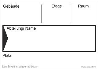 40x ablösbare Umzugetiketten Nr.4, 105x74, Beschriftung mit Etiketten vom Umzugskarton für den Umzug, Umzugsetiketten, Weiß