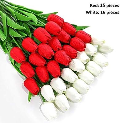 Lot de 20 T/ête de Fleur Corolle Chrysanth/ème Artificiel D/écoration de Maison Artisanat Cr/ème