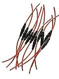KOLACEN Automotive Car Inline Screw Type 5x20mm AGC Fuse Holder 16 Awg Wire (Pcak of 10)