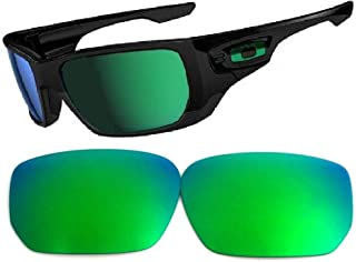 Galaxy Replacement Lenses For Oakley Style Switch Sunglasses Green Polarized