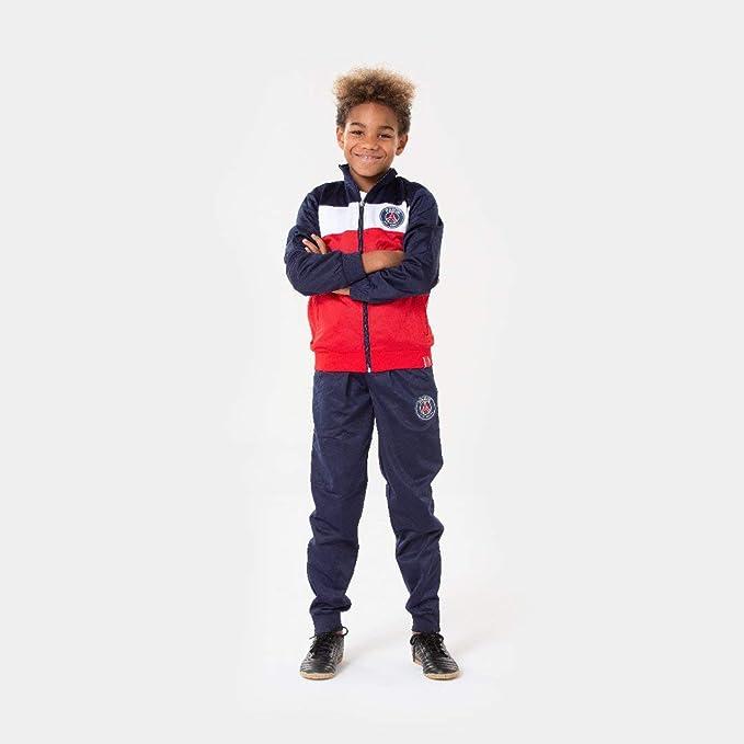 Paris Saint Germain - Tuta PSG, collezione ufficiale, taglia bambino