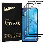 ivoler 3 Unidades Protector de Pantalla para OPPO A91, [Cobertura Completa] Cristal Vidrio Templado Premium para para OPPO A91, [Dureza 9H] [Anti-Arañazos] [Sin Burbujas]