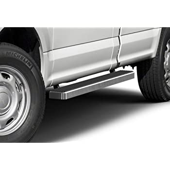 Amazon Com Aps Iboard Running Boards 5 Inches Compatible With Ford F150 2015 2020 Regular Cab F 250 F 350 Super Duty 2017 2020 Nerf Bars Side Steps Side Bars Automotive