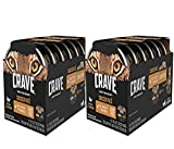 Crave Grain Free High Protein Chicken Pate Multipack Wet Cat Food Tray (12 Twin Packs, 2.6 oz each)