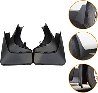 Autotoper Front Rear Mudguards For BMW 5 Series E60 2004-2010 4pcs Fender Mud Flap set