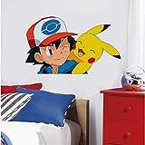 Stickers muraux Pokemon pour chambre d'enfants Pokemon Decor