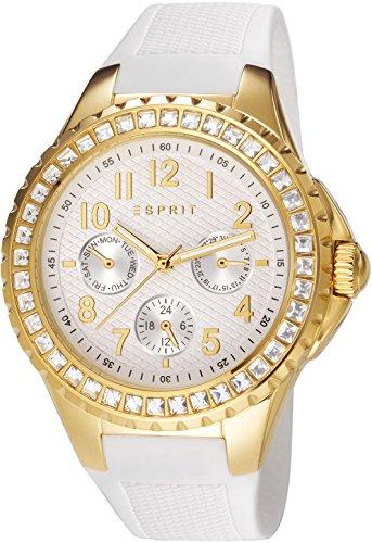 Esprit Damen-Armbanduhr Benicia Analog Quarz Kunststoff ES106622004