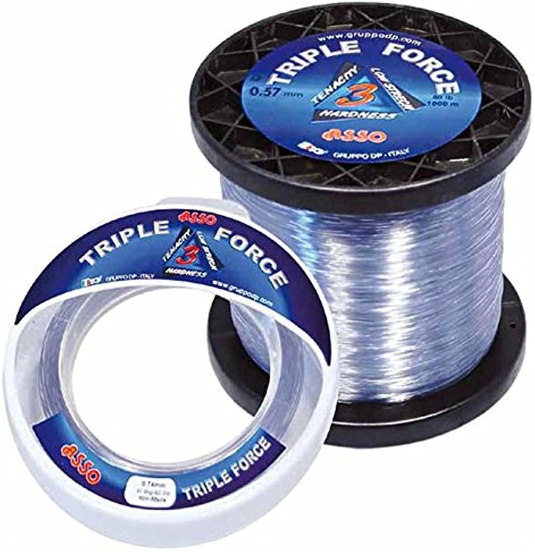 Asso - Triple Force - 30 Lbs 43 100-1000 M - Igfa - ASTF30M B01C4CPBEQ  Komfortabel und natürlich