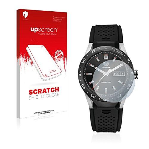 upscreen Schutzfolie kompatibel mit Tag Heuer Connected 46 – Kristallklar, Kratzschutz, Anti-Fingerprint