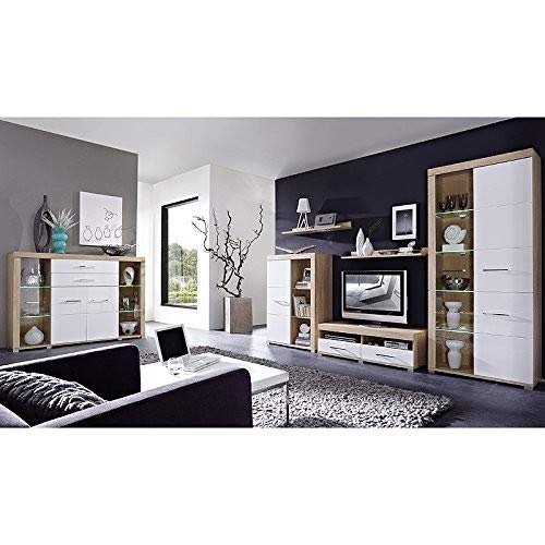 Peter DSHW561030 TV-Element Schrank Unterteil Kommode fernseherstand, Holz, braun, 48.0 x 120.0 x 38.0 cm - 5