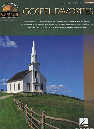 Piano Play Along Volume 103 Gospel Favorites Piano Bk/Cd