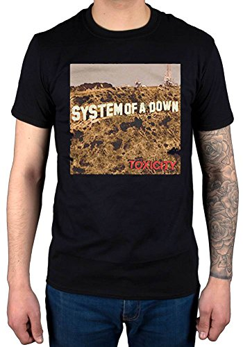 Official System of A Down Toxicity T-Shirt