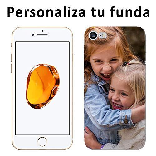 Mookase Funda Carcasa Personalizada para iPhone 7 con tu Foto, Dibujo o Texto (Básica)