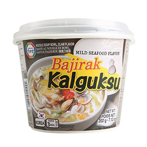 Surasang Bajirak Kalguksu, Korean Knife Cut Noodle...