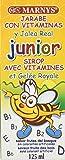 MARNYS Jarabe JUNIOR Multivitamínico con Jalea Real y 12 Vitaminas 125ml Sabor Frutas del Bosque