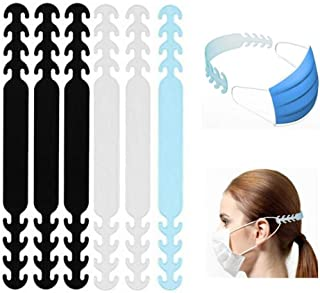 Wetben Mask Hook, Ear Protector Decompression Holder Free Ears Adjustable Anti-Tightening Extension Buckle Belt Strap Exte...