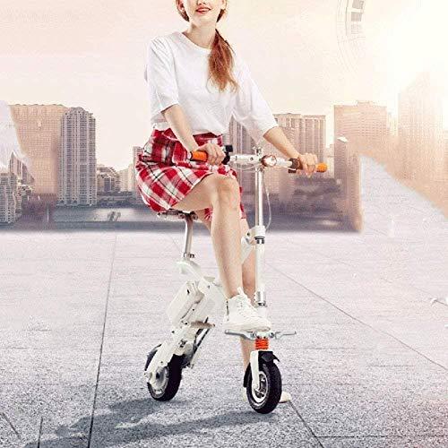Woodtree AK Moda portátil Ciudad de Bicicleta eléctrica, Plegable Vespa Velocidad de...