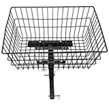 Rear Basket XL Extra Large Challenger J1000 for Pride, Drive, Golden Electric Mobility Scooters + Pin